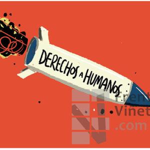 Derechos Humanos - Viñeta de Iñaki y Frenchy