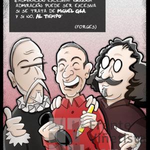 Miguel Gila - Viñeta de Ben
