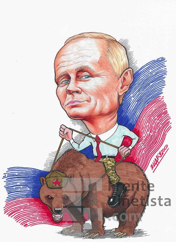 RUSIA - Viñeta de Ellapizloco