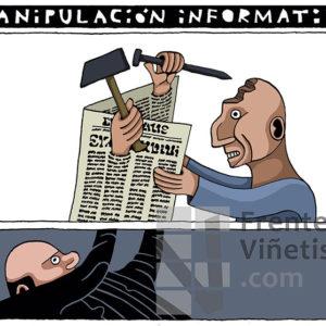 MANIPULACIÓN INFORMATIVA - Viñeta de Eneko