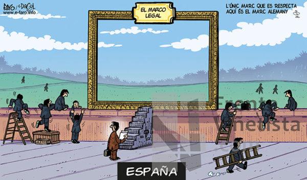 EL MARCO LEGAL - Viñeta de Faro