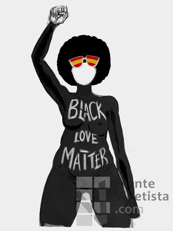 Black Love Matter - Viñeta de Jamón y Queso