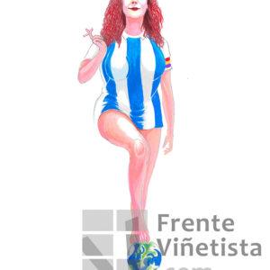 Cristina Fallarás - Viñeta de Jamón y Queso