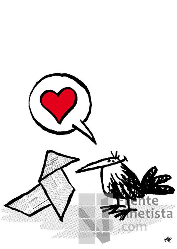 Amor - Viñeta de Kap