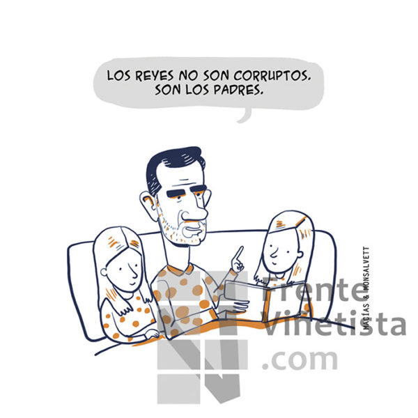SON LOS PADRES - Viñeta de Macías & Monsalvett