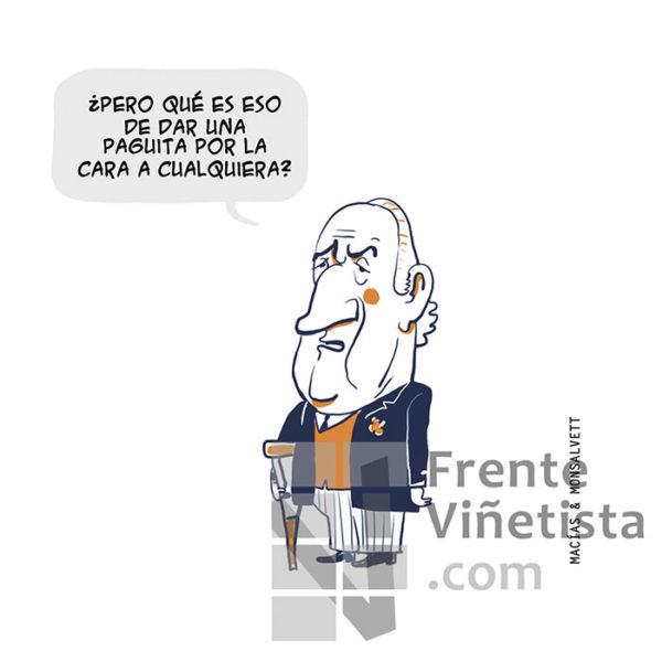 LA PAGUITA - Viñeta de Macías & Monsalvett