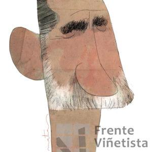 Felipe VI - Caricatura de Matías Tolsà