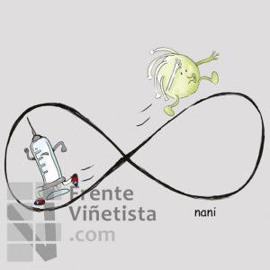 El ciclo infinito - Viñeta de Nani