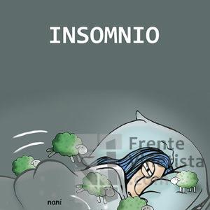 Insomnio - Viñeta de Nani