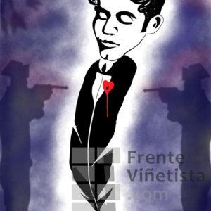 Federico García Lorca - Viñeta de Pedripol