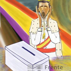 El grito de Felipe VI - Viñeta de Pedripol