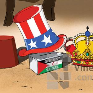 La tracición de Juan Carlos I al Sahara Occidental - Viñeta de Pedripol