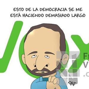 Vox - Viñeta de Pat