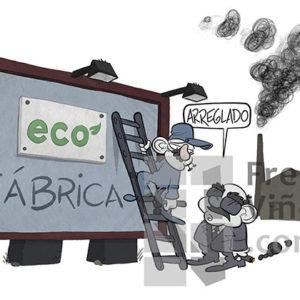 Día Mundial del Medio Ambiente - Viñeta de Tres