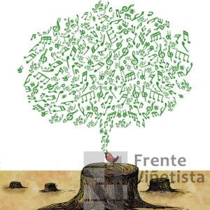 Deforestación - Viñeta de Turcios