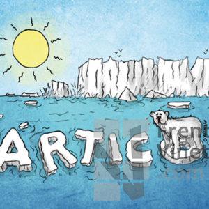 Ártico - Viñeta de Elkoko