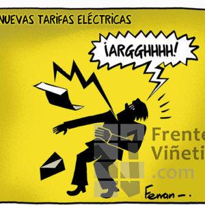 Tarifas Eléctricas - Viñeta de Ferran Martín