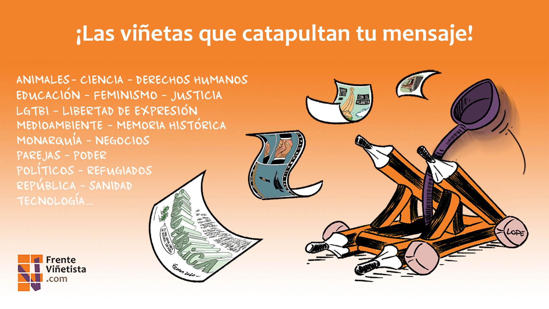 Tienda de viñetas del Frente Viñetista